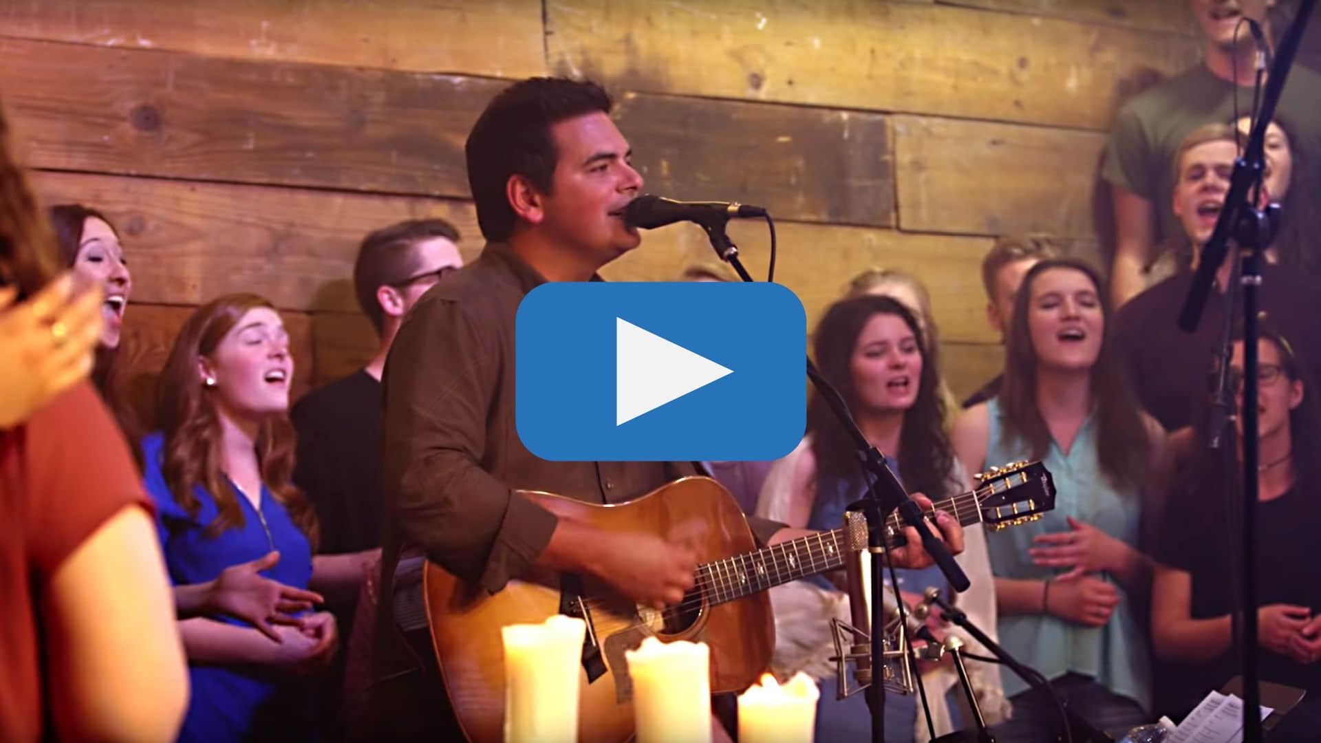 His Mercy is More, live performance by Matt Boswell and college choir