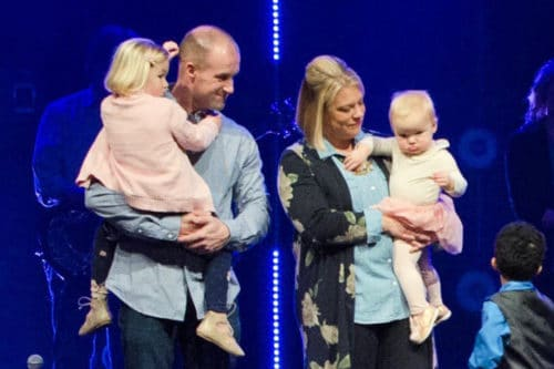 Blume Family Child Dedication