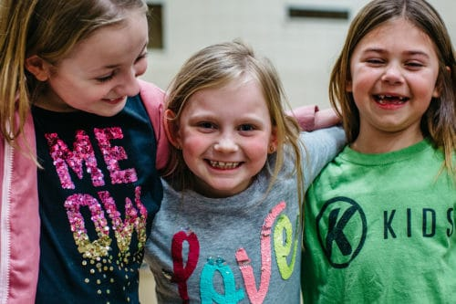 Wednesday night in kids ministries