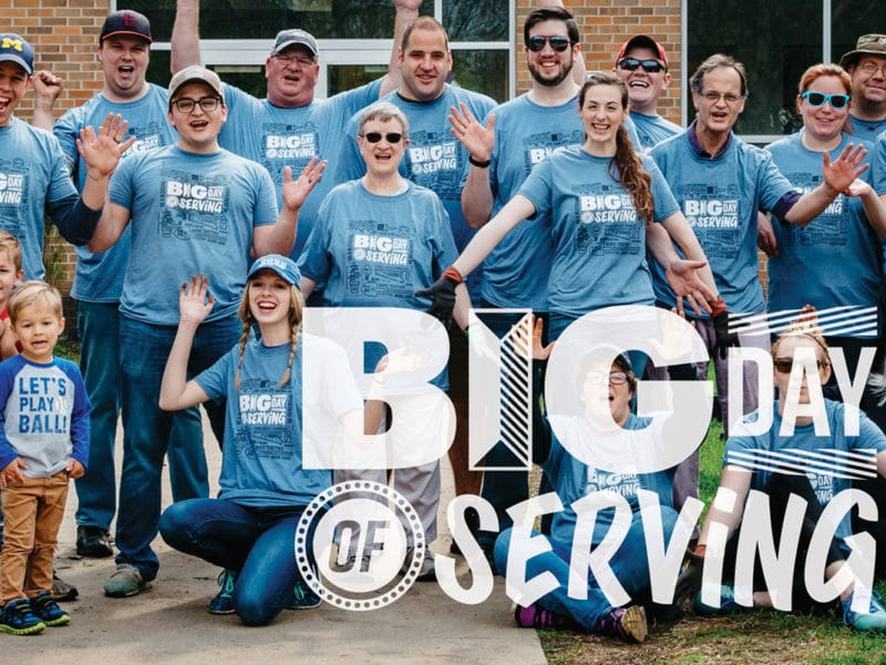 Big Day of Serving