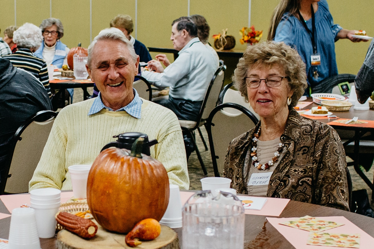 Fall Party with Adult Communities