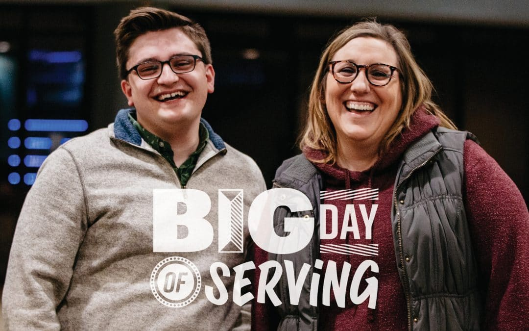 Everything you need to know for Big Day of Serving
