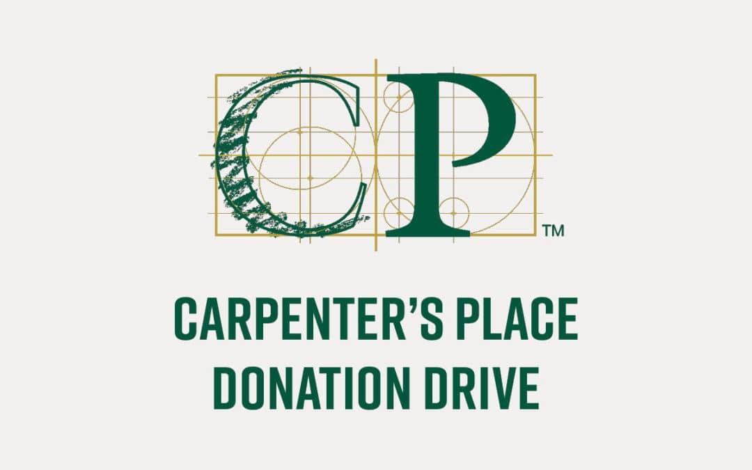 Carpenter's Place Donation Drive