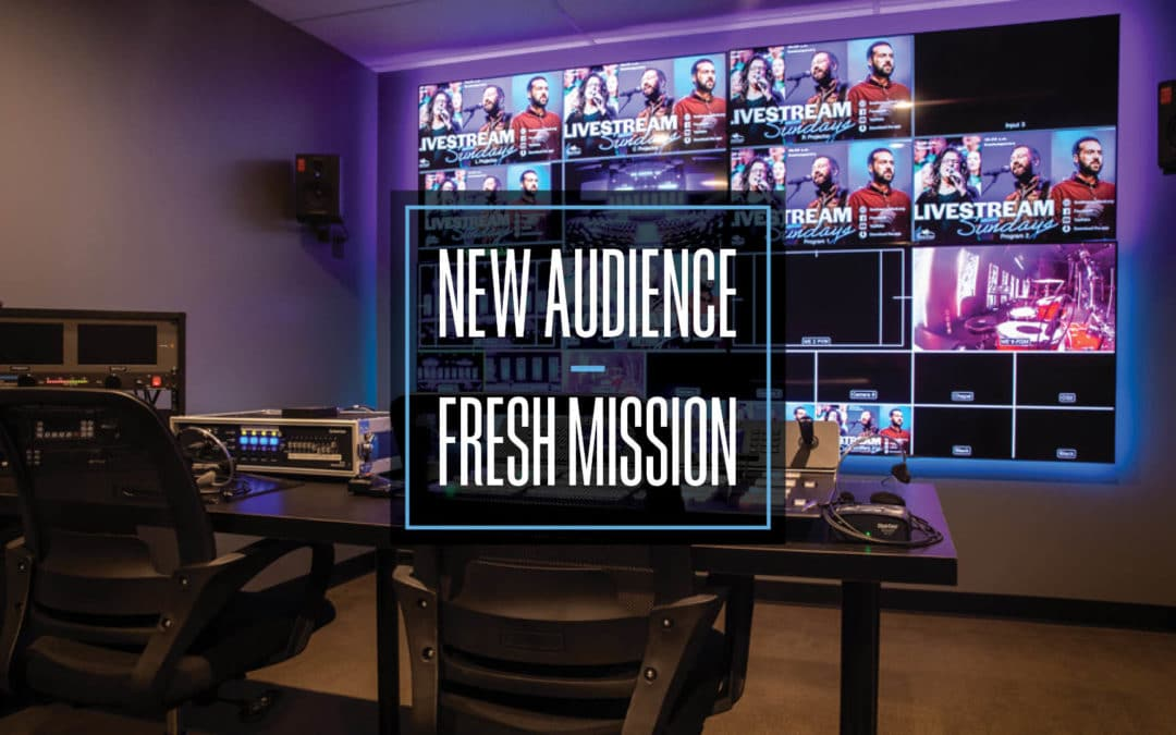 New audience, fresh mission